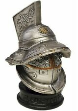 More details for miniature roman gladiator helmet 7cm new and boxed superb quality