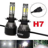 LED H7 Headlight Bulb Kit 980W for Mercedes-Benz C300 B200 C230 C240 GL350 GL450