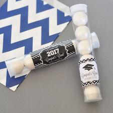 96 Graduation Theme Personalized Candy Tubes Graduation Party Favors