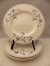 "Pfaltzgraff April pattern - set/lot of 4 Salad plates - 8 1/8"" - EUC"