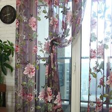Tenda Soggiorno Sala da Pranzo Corridoio Casa Tulle Porta Drapieren Trasparente