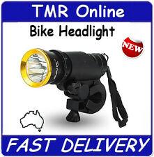 Bike Bicycle Headlight Torch 5W Bright Flashing Head Light Flashlight Tough NEW