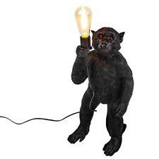 Lámpara de Pie Mono Monkey 52cm Negro Mesa Lámpara Urbana Decoración Midcentury
