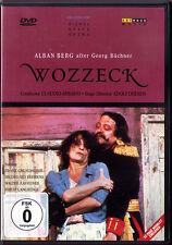 DVD BERG WOZZECK Hildegard BEHRENS Franz GRUNDHEBER LANGRIDGE ZEDNIK ABBADO 1987
