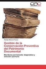 Gestion de la Conservacion Preventiva del Patrimonio Documental (Paperback or So