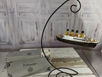 Polonaise Titanic 941 ship boat xmas blown ornament glass tree holiday