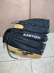 "Easton Black Magic 12.5"" BX1250B Leather Baseball Glove LHT 12 1/2"" Pattern"