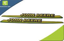 John Deere LH & RH Upper Hood Decal Set AM122823 LT133 LT155 LT166 LTR155 LTR166