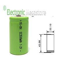 Batterie per riparazione TRAPANO AVVITATORI ricaricabili da 1,2v 3000mAh SC 3500