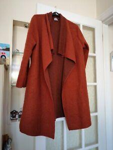 Vera Tucci Italian Boiled Wool mix coat/coatigan one size