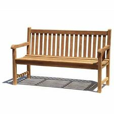 Unbranded Teak Up to 3 Garden Chairs, Swings & Benches