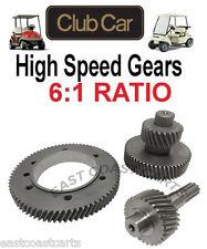 Club Car DS, Precedent Golf Cart Electric 6:1 Ratio High Speed Gear Set 1998'-up