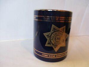 Las Vegas NV Police Department Crime Scene Investigator CSI Coffee Cup Mug