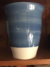 Gorgeous Blue Vase Glaze -  Textured  Long Vase ~ Large 44cm