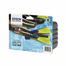 Epson T5846 Bk/C/M/Y Inks/Photo Paper - EP584640A0