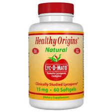 Lycopène, Lyc-O-Mato, 15mg X 60 Gélule - Healthy Origins
