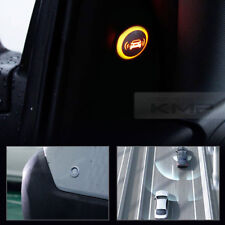 Blind Spot Assist Warning LED Sensor Light Back Up Alarms Buzzer For BMW Car