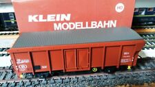 Klein Modellban H0 tombereau couvert 2 essieux SNCB