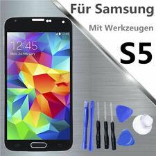 Para Samsung Galaxy S5 i9600 G900 SM-G900F Pantalla LCD digitalizador Negro ARES