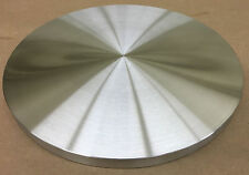 "TURNTABLE PLATTER *CUSTOM ORDERS WELCOME* 12"" DIA. X 1"" THK. ALUMINUM *FLAT*USA!"