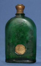 Vintage German Lohse perfume green glass bottle