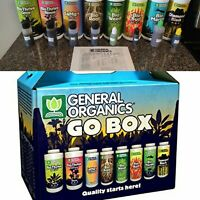 General Hydroponics General Organics GO Box - enough for 1 plant full cycle