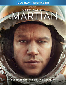 The Martian (Blu-ray/Digital, 2016) NEW