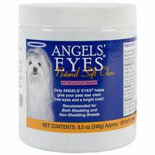 Angels' Eyes Natural Tear Stain Soft Chews120 count EXPIRES 7/2021 8.5 oz Dogs