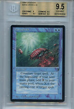 MTG Legends Mana Drain BGS 9.5 Gem Mint Magic the Gathering WOTC card