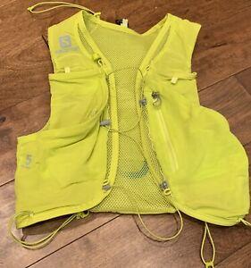Salomon Advanced Skin 5 Set Running Hydration Vest Sulphur Spring Size Small