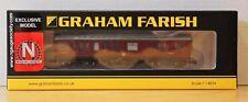 N Gauge Society / Graham Farish 374-875S Inspection Saloon LMS Unlined BNIB