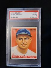 1933 Goudey Heinie Manush #187 PSA 4 VG-EX. Check out my other listings!