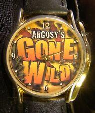 Nice Collectable  Argosy's Gone Wild Casino Gold Black Watch