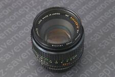 Minolta MC Rokkor-X PF 50mm F1:1.7 Prime Lens f=50mm (MADE IN JAPAN)
