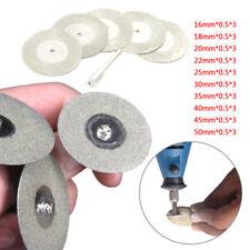 10pcs 16mm Mini Diamond Saw Blade Cutting Discs for Drill Rotary Tool CA