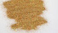 Ultra Fine Holographic Gold Coloured Glitter for Art Craft & Home Decor 1kg Bag