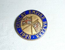More details for old dudley empire bazaar pin badge ~ 1928