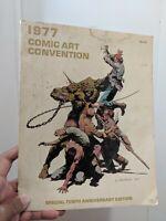 1977 NY Comic Convention Program  Book Berni Wrightson Cover and Tribute