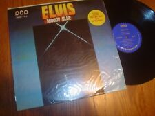 """VG ++ TO NM ELVIS LP: """" MOODY BLUE """" 1970'S / POP RECORD LABEL / TAIWAN ?"""