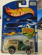Hot Wheels Morris Wagon #182 Green Race & Win