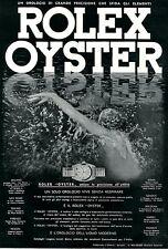 ROLEX OYSTER-l'orologio dell'uomo moderno-sub nuoto-1940