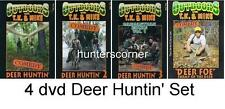 Tk and Mike Comedy Deer Hunting Videos - 4 Dvd Set