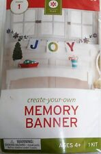 Create-Your-Own Memory Banner Kit   JOY