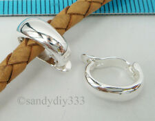 1x STERLING SILVER CHANGEABLE PENDANT BAIL CLASP SLIDER CONNECTOR #2068