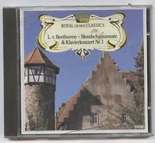 Ludwig Van Beethoven-Mondscheinsonate & Klavierkonzert Nr 1 CD