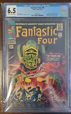 Fantastic Four 49 CGC 6.5 Silver Age Marvel Key!