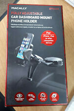Macally Fully Adjustable Car Dash Mount Iphone ipod and other compatible Devices