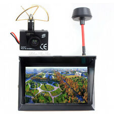 40CH FX 797T 5.8GHz Wireless Camera TX Transmitter F408 Monitor Receiver FPV Kit