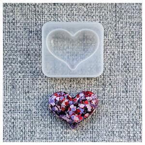 💗 VALENTINE'S HEART 💗 SILICONE MOULD MEMORIAL KEEPSAKE EPOXY RESIN LOVE HUG UK