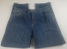 Talbots Womens Jeans Sz 12 Stretch High Waist Boot Cut Medium Wash Denim **